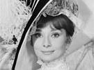 Audrey Hepburnová ve filmu My Fair Lady z roku 1964
