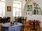 Interiér hotelu Besídka ve Slavonicích