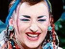 Britský novoromantik Boy George, hudební a módní ikona je žijícím stylovým...
