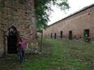 Olomouck� pevnost Fort Tafelberg, kter� se nach�z� na Tabulov�m vrchu v are�lu...