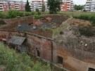 Fortov� pevn�stka Tabulov� vrch v are�lu olomouck� Fakultn� nemocnice.