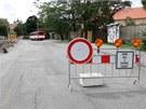 Kvůli přestavbě křižovatky ulic Na Střelnici, Dobrovského a Studentská na