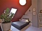 V patře je také pokoj pro hosty.