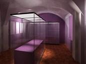 Vizualizace upravených prostor hlavní expozice Muzea loutkářských kultur v