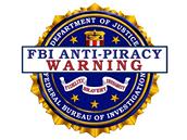 Protipirátské logo FBI