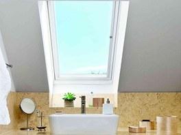 Bezúdržbová střešní okna sdřevěným jádrem jsou ideální do místností, kde jsou