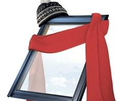 Zateplené lemování zahřeje v zimních měsících vaše okno stejně, jako zahřeje