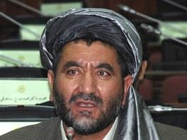 Ahmad Chán Samanganí na archivním snímku