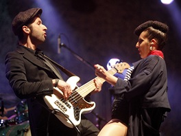 Parov Stelar Band - festival Colours of Ostrava 2012, den čtvrtý