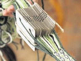 Karetky: málo známá technika tkaní, kterou se dají vytvářet krásně vzorované...