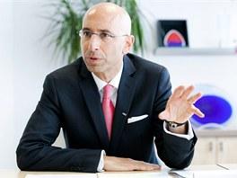 Zástupce akcionáře firmy eHI, švýcarský advokát Thomas Ladner (18. července