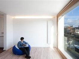 Pohled do budoucí ložnice majitele