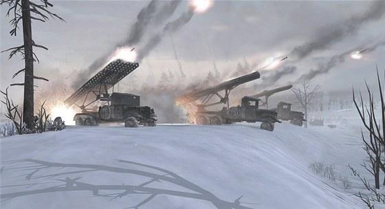 Zima je v Company of Heroes 2 taktickým prvkem.