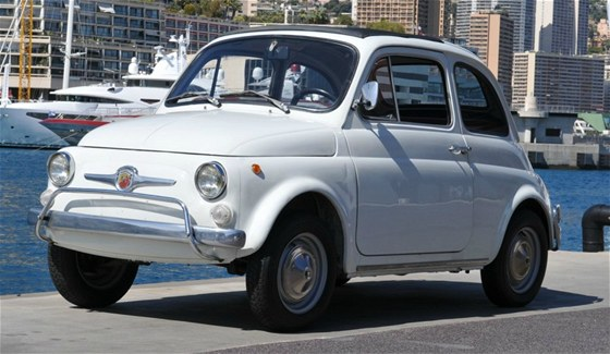 Fiat 500 Abarth ze sbírky monackého knížete