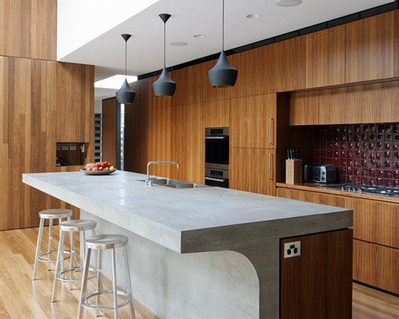 �e�en� kuchyn� je d�lem architektky Roweny Marsch, kter� m� v ateli�ru MCK na