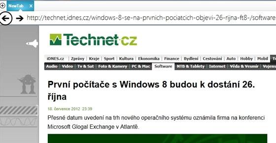 Prohlížeč Hourglass 2012 pro Metro ve Windows 8 zatím umí otevřít jen dva