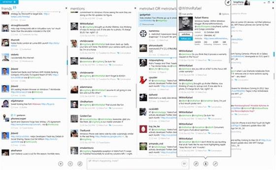 MetroTwit vám zpříjemní práci se sítí Twitter v uživatelském rozhraní