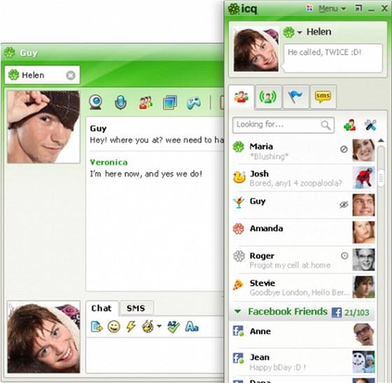 Pro Windows 8 si pořiďte nejnovější verzi ICQ nebo některé z jeho variant
