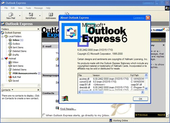 S e-mailov�m klientem Outlook Express ji� ve Windows 8 nepochod�te � nahra�te