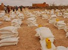 Člověk v tísni celkem hladovějícím Somálcům poskytl 1450 tun potravin.