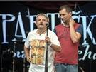 Michal Suchánek a Ondřej Sokol a jejich Partička na vzduchu (Konopiště, 28.