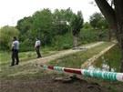 V jezírku v Drahanské roklii v pražských Čimicích bylo nalezeno tělo mrtvého