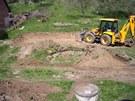 První rok věnovali majitelé úpravě terénu.