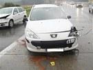 Nehoda na D1 poblíž Velké Bíteše.