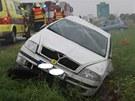 Nehoda na D1 pobl� Velk� B�te�e.