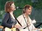 Katka García a Luboš Malina na Folkových prázdninách 2012 v Náměšti nad Oslavou