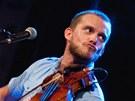 Nicolas Pellegrin na Folkových prázdninách 2012 v Náměšti nad Oslavou