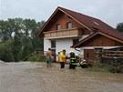 N�sledky sobotn� bou�ky u R�jova na �eskokrumlovsku
