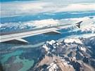 I z dopravního letadla lze pořídit zajímavou fotografii: Na pravidelné lince