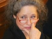 Herečka a bývalá poslankyně Táňa Fischerová