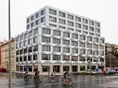 Keystone: Stavba v ulici Pobřežní v Karlíně je vzpomínkou na český kubismus.