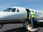 Cessna je připravena k dalšímu měřicímu letu