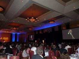 Předávání ocenění Hotel Fairmont Royal York Toronto