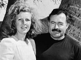 Martha Gellhornová a spisovatel Ernest Hemingway