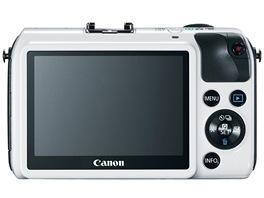 Canon EOS M - málo tlačítek a dotykový displej