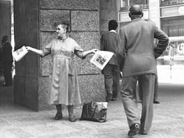 Jovan Dezort: Kolportérka (60. léta)