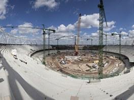 Stadion pojme 80 000 diváků