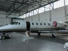 """""""Kalibrační"""" letadlo - Cessna 560 XL"""
