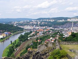 Ústí nad Labem ze Střekova