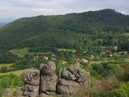 Hora Varhošť nad Kundraticemi