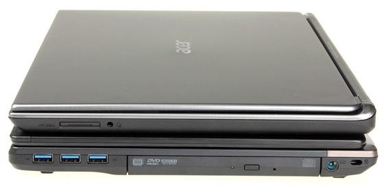 Acer - prav� strana