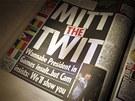 H�up Mitt. Reakce britsk�ch novin na Romneyho pozn�mky o olympi�d� v Lond�n�