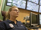 V Ústí mají strážníci čtyři velíny plné obrazovek, vysílaček a záznamových
