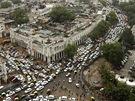 Kvůli obřímu výpadku proudu zkolabovala doprava v Dillí (31. července 2012)