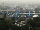 Kvůli obřímu výpadku proudu se zastavila železniční doprava - zaplněné nádraží