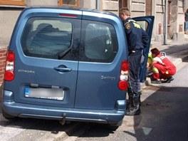 Nehoda s úmrtím řidiče v Chlumci nad Cidlinou (30. července 2012)